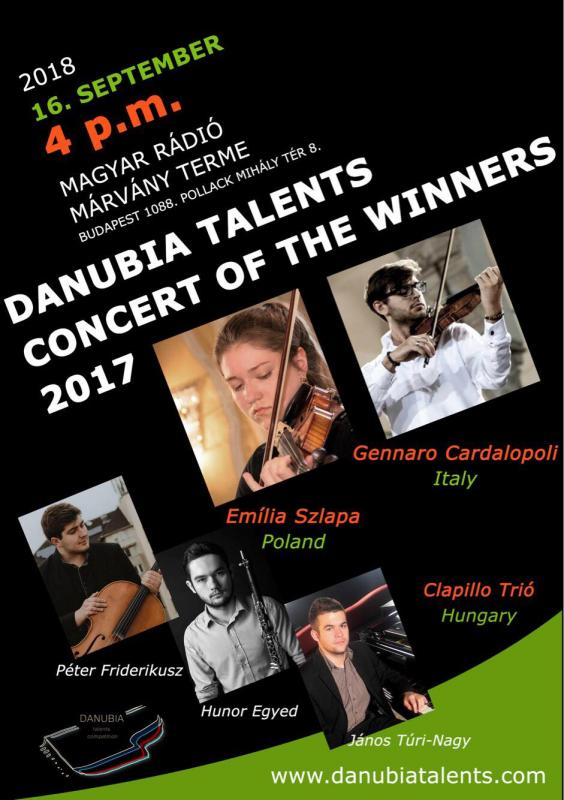 Danubia Talents Contert of the Winners 16.09.2018