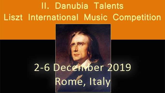 Danubia Talents Liszt International Competition