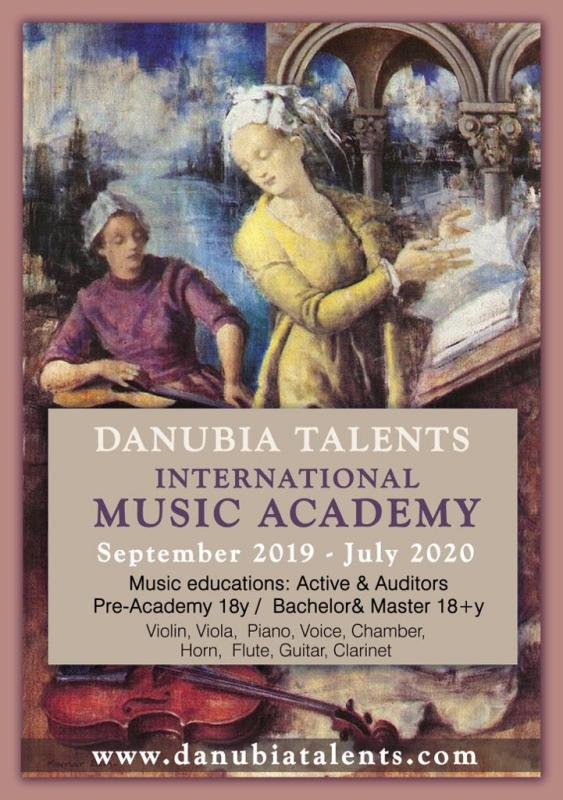 Danubia Talents International Music Academy 2019/2020