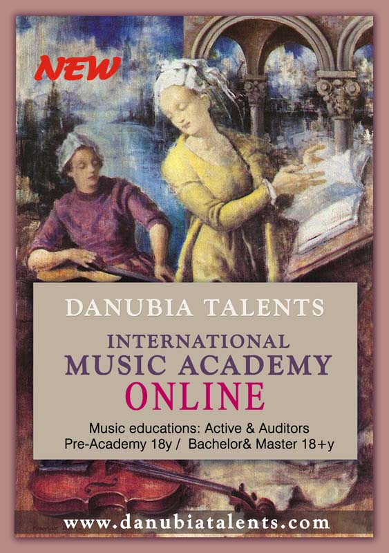 Danubia Talent International Music Academy ONLINE 2020